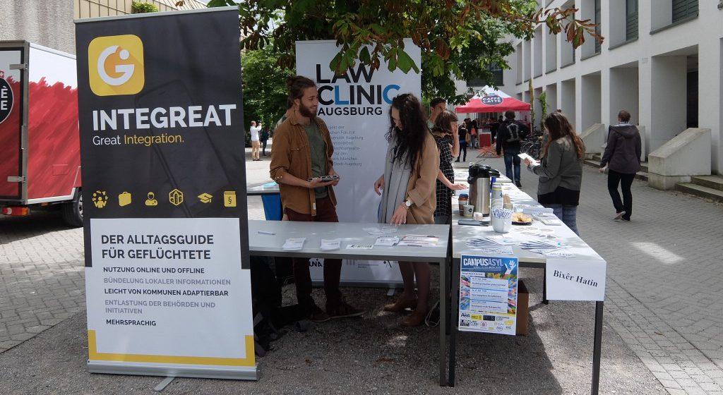 RefugeeStreet an der Universität Augsburg