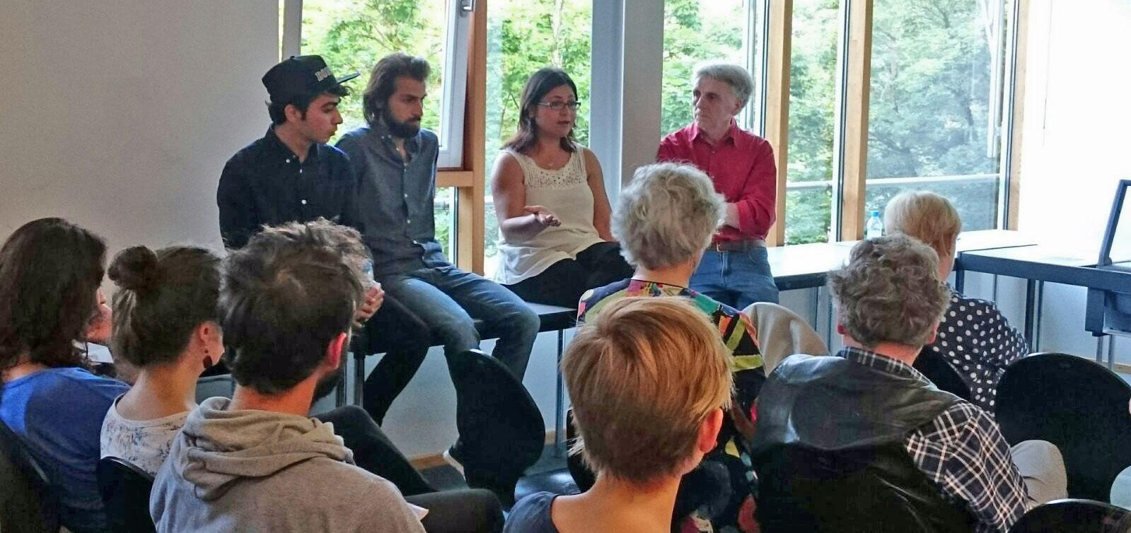 Vortrag und Diskussion – Flüchtlingssituation: lokal und global
